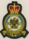63 Sqn RAF Regiment badge